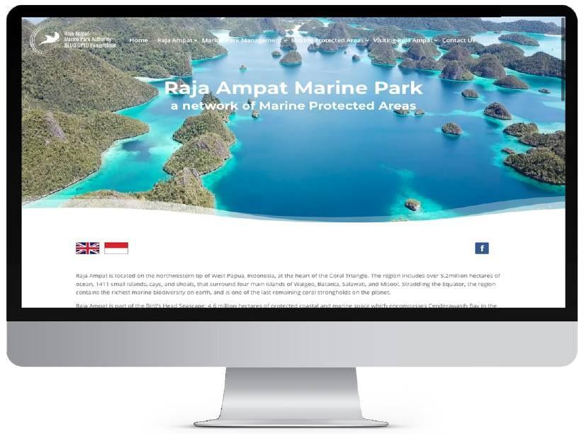 Raja Ampat Marine Park Website