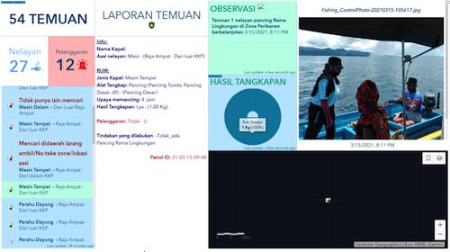 SEA TRACKER Marine Park and MPA Management Raja Ampat